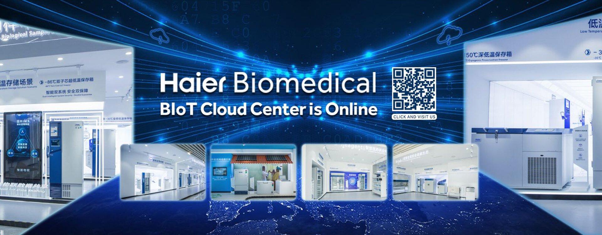Haier Biomedical - BIoT Cloud Center is Online - Laboratuvar Cihaz ve Ürün Satışı