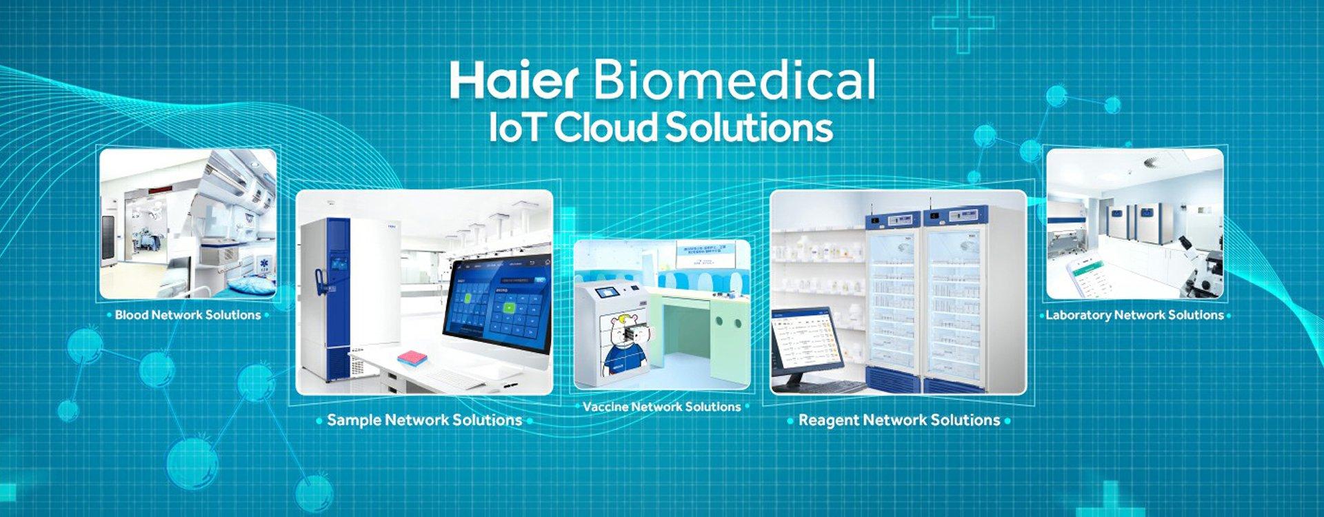 Haier Biomedical - IoT Cloud Solutions - Laboratuvar Cihaz ve Ürün Satışı
