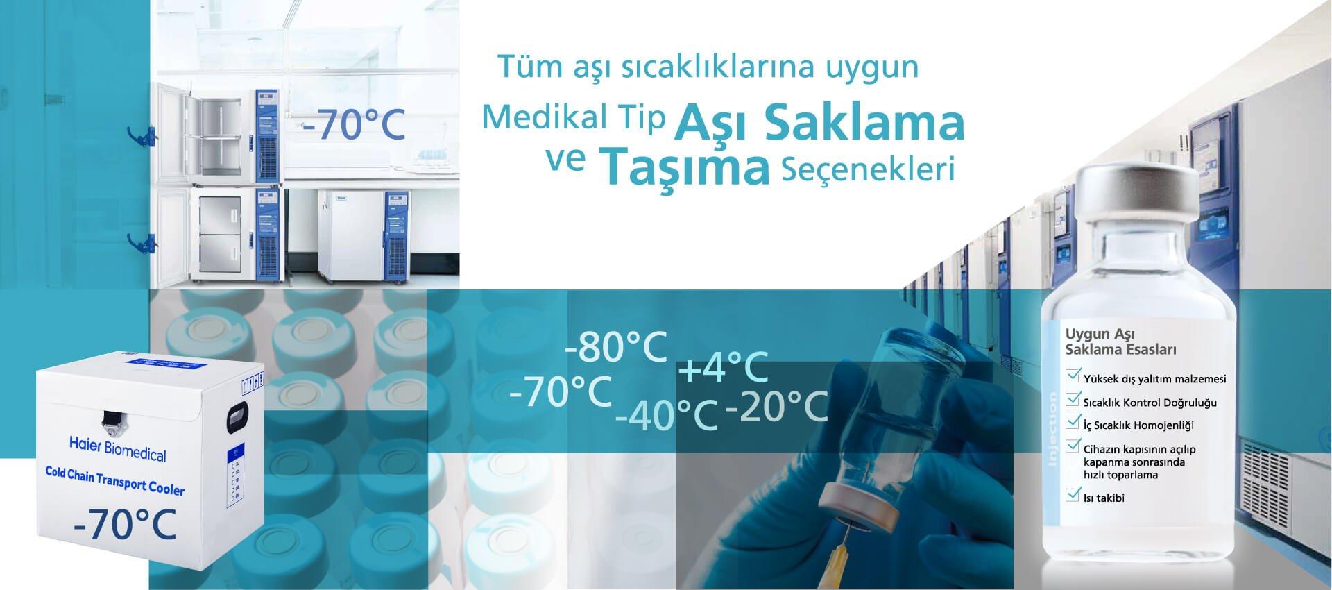 Tüm Aşı Sıcaklıklarına Uygun Medikal Tip Aşı Saklama ve Taşıma Seçenekleri - Laboratuvar Malzemeleri ve Cihazları, İstanbul ve Ankara