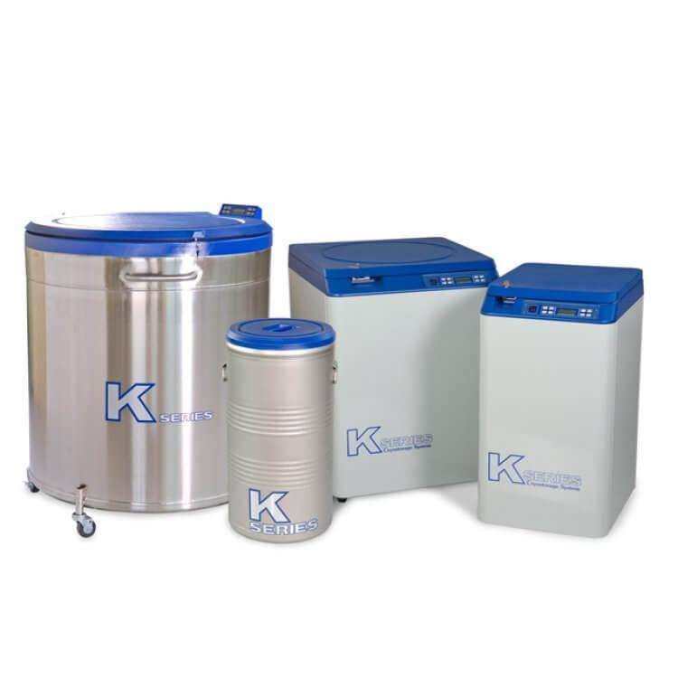 K Serisi Yüksek Kapasite Örnek Saklama Tankı