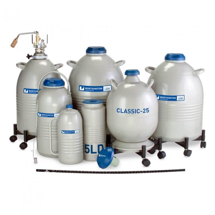 LD Serisi Sıvı Azot Depolama Tankları - Labor İldam