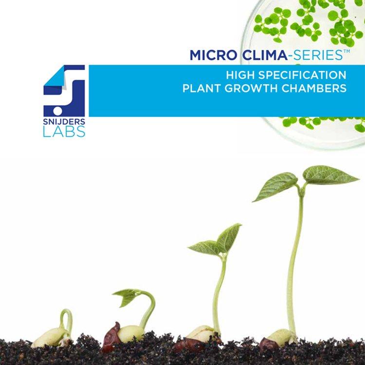 Micro Clima Serisi Yüksek Özellikli Bitki Büyütme Kabinleri