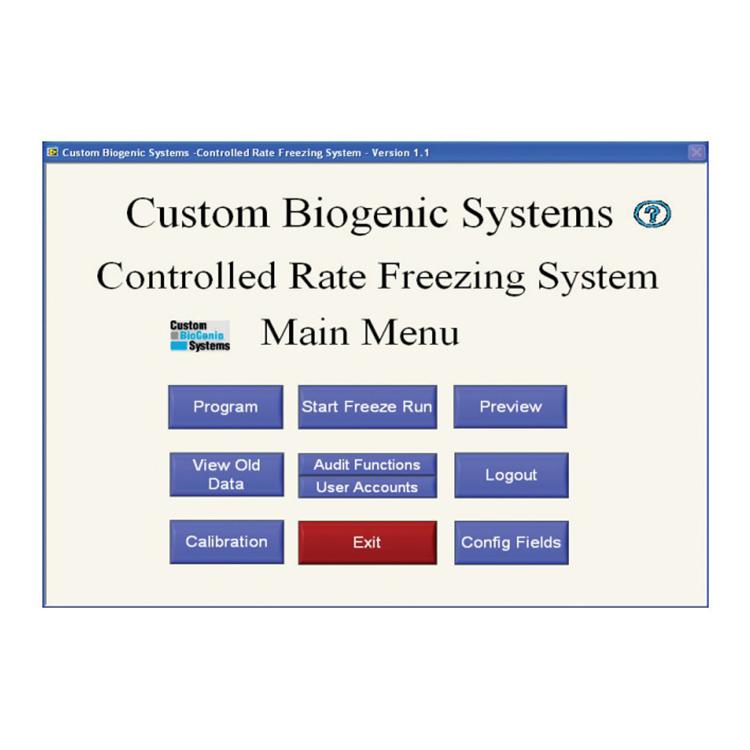 CBS  Programlanabilir Kontrollü Dondurma Cihazı - Ürün Resmi