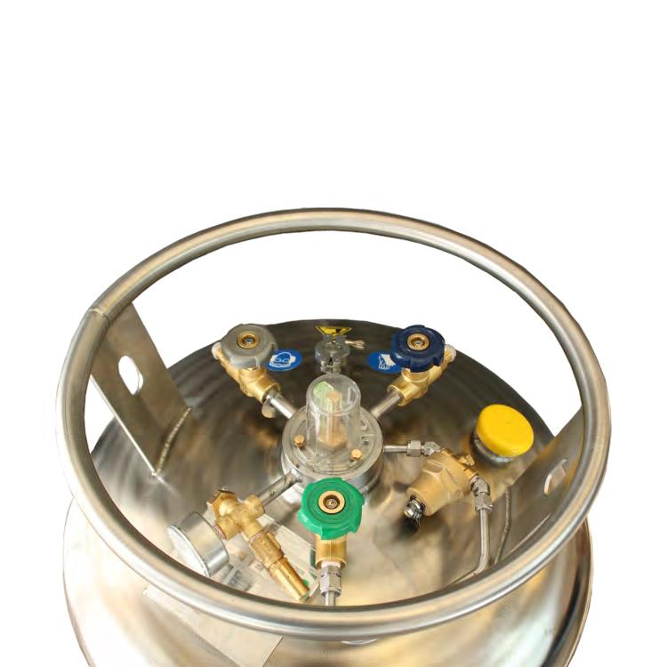 AC Serisi Basınçlı Azot Silindirleri - Ürün Resmi