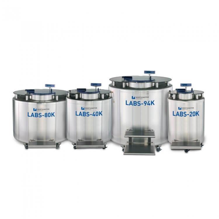 Sıvı Azot Tankları - LN2 Depolama ve Ulaştırma - Labor İldam Laboratuvar Malzemeleri